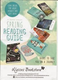 Spring Reading Guide 2014